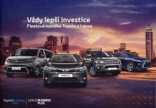 Toyota Lexus Fleet 2017 catalogue brochure vehicules de fonction corporate sales