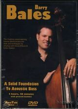 A Solid Foundation to Acoustic Double Bass Tuition DVD