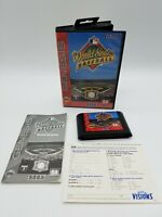 World Series Baseball Sega Genesis CIB Case Manual Insert MLB Sports Game