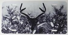 Velvet Buck, Metal License Plate,Deer Hunter Gift, Car Tag