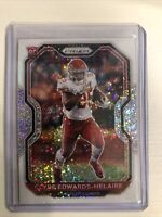 2020 Prizm Clyde Edwards-Helaire Rookie Card RC White Sparkle SSP Prizm CENTERED
