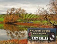 Calif - NAPA VALLEY - Travel Souvenir Fridge Magnet