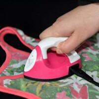 Mini Electric Iron Small Portable Travel Crafting Craft Sewing Supplie T1Y5