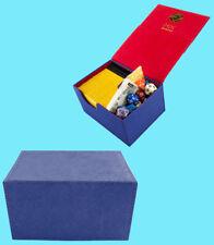 DEX PROTECTION CREATION MEDIUM Size DARK BLUE 100 DECK BOX Card Storage Case