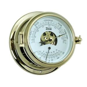 Endurance II 115 Barometer & Thermometer by Weems & Plath