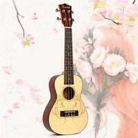 Concert Ukulele Uke Hawaii Guitar Professional Performance Ukelele  23 Inch