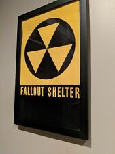 Vintage Fallout Shelter Art Movie Style Poster 11 x 17 inch Fallout 4 Inspired