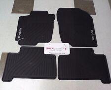Toyota Rav4 2007 - 2012 Factory All Weather Rubber Floor Mats Genuine OEM OE