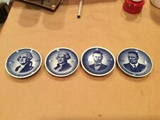 4 Royal Copenhagen President Mini Plates - Excellent Condition
