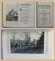 Prospekt Erinnerungen an Schloß Wernigerode Harz 1911 mit Bildern Sachsen-Anhalt