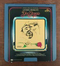 Yes Giorgio - Luciano Pavarotti - CED SelectaVision VideoDisc