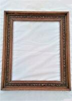 Victorian Carved Oak Large Picture Frame 26 inches x 22 inches Rebated 19th C