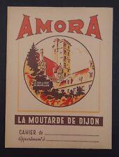 Protège cahier AMORA La moutarde de Dijon copybook cover Wachbuch