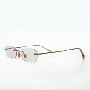 Pink Rimless Tinted Rectangular Lens Reading Glasses 1.75 diopter- Ryn