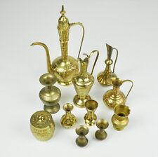 Sammlung / Konvolut / Lot - Messing - Indisch - Kannen - Amphoren - Vasen brass
