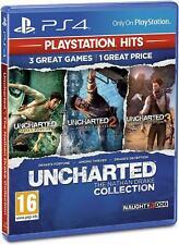 La colección de Nathan Drake Uncharted Ps4 Nuevo y Sellado