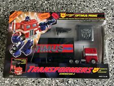 Transformers Optimus Prime G2 Sealed In Box ~100% Complete Unused Sealed~ Hasbro