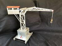 Antique Tin Toy Large  French Germany Harbour Crane  Is working !
