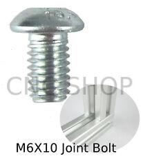 M6 X 10 Joint Bolt ALUMINIUM T-SLOT FRAME PROFILE EXTRUSION SYSTEM 2020 CNC