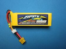 ZIPPY COMPACT 1500mAh 3S 11.1V 40C 50C LIPO BATTERY XT60 CAR QUAD HELI FPV RACE