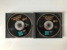 TOYOTA LEXUS NAVIGATION DISC DVD SAT NAV EUROPE MAP FULL SET (4 DVDs) 2009-2010