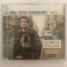 Lionel Richie/Commodores Gold remastered 2 cd neuf sous blister