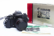 Canon F1 new with lens and flash boxed
