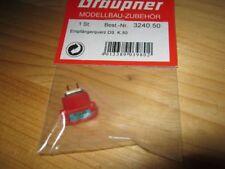 Graupner Quarz Doppelsuper Empfängerquarz 50 R DS 40 Mhz unbenutzt