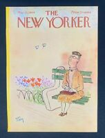 COVER ONLY ~ The New Yorker Magazine, May 23, 1964 ~ William Steig