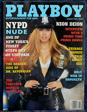 "Magazine PLAYBOY  August 1994 ""MARIA CHECA-CENTERFOLD"", ""NYPD Nude"""