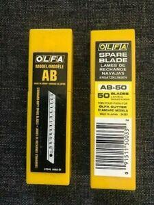 Olfa Blades AB 50 Pack Of 50