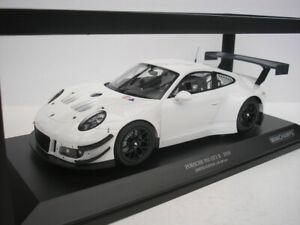 Porsche 911 GT3 R 2018 White 1/18 minichamps 155186900 New