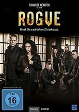 3 DVD-Box ° Rogue - Break the case before it breaks you ° Staffel 2 ° NEU & OVP