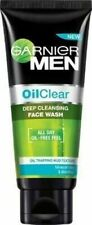 Garnier Men Oil Clear Deep Cleansing Face Wash -100gm free shipping