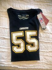 Mitchell & Ness Chargers 94 Junior Seau San Diego Chargers Women's Size Medium
