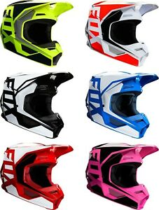 2020 Fox Racing Adult V1 Prix Dirtbike Helmet - Offroad ATV