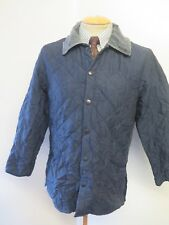 """Barbour D891 Eskdale Quilted jacket - XS 34-36"""" Euro 44-46 in Blue"""