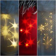 3D Hologramm Sternenfolie Stern effekt Lichteffekt Folie Lichterkette Batterie