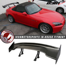 "Fits 00-09 Honda S2000 57"" Wide Carbon Fiber Trunk Spoiler Wing"