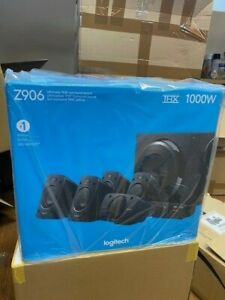 Logitech Z906 5.1 Surround Sound Speaker System, THX,Dolby & DTS Certified 1000W