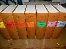 Collana Enciclopedia Garzanti n°9 libri  del 1988 Geografia, Letteratura, musica