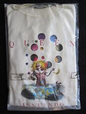 QUEEN  :  VINTAGE OFFICIAL 'INNUENDO' 1991 PROMO SWEATSHIRT - STILL SEALED ! !