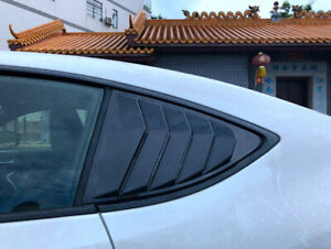 Carbon Fiber Black Side Window Louvers Vent For Toyota 86/Subaru BRZ 2012-2018