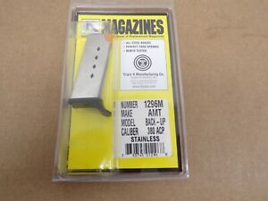 AMT Backup 380ACP Stainless Magazine by Triple K #1296M