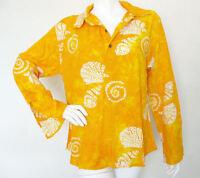 Hippie Gypsy Tunic Bohemian Block Printed Batik Kurta Kurti Blouse Top - L