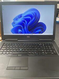 Dell Precision 7720 Core i7-7820HQ 16GB 256SSD Quadro P4000 Workstation Wind 11