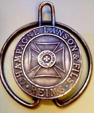 LANSON CHAMPAGNE  MONEY CLIP  PAPER CLIP ANCIENT VINTAGE REIMS FRANCE