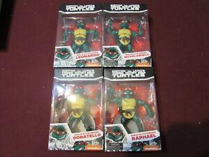 Playmates PX Exclusive TMNT Ninja Elite Series Complete Set of 4 (NEW)
