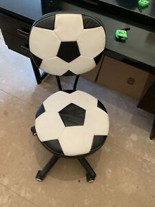 Desk Swivel Chair. Childs Room. Football Theme. Collection Only Uxbridge