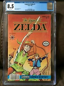 Legend of Zelda #1 CGC 8.5 White pages Valiant